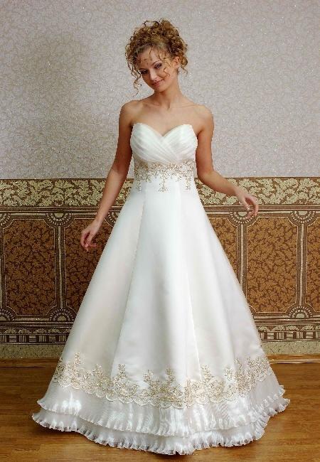 Свадебные платья Свадебное платье  Модель 152-130