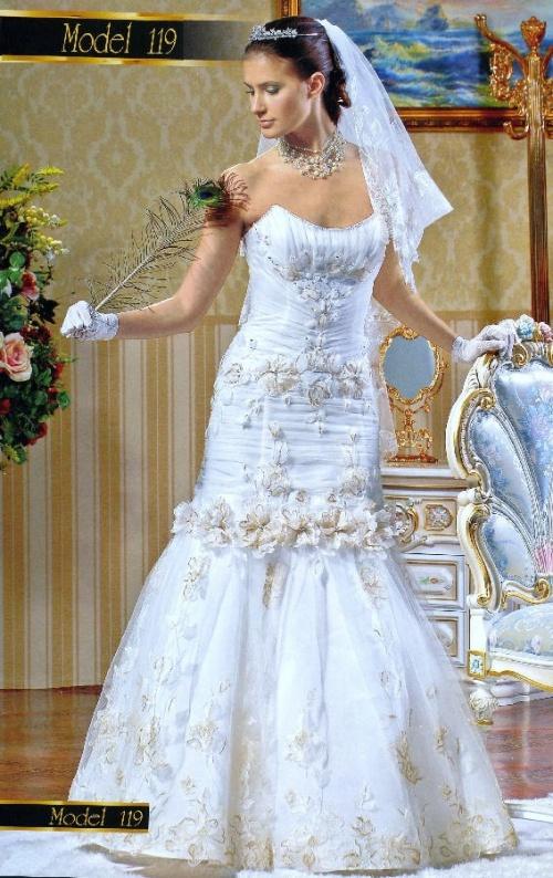 Свадебные платья Модель U119