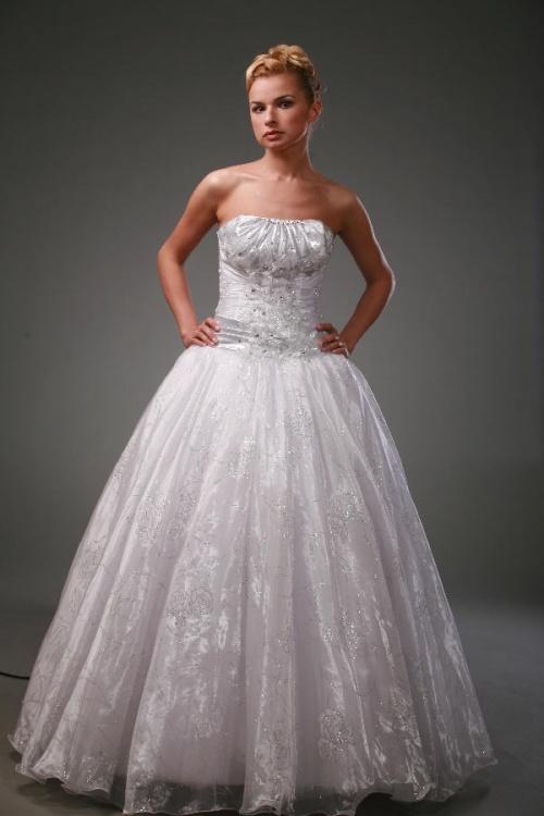 Свадебные платья Модель Снежная королева