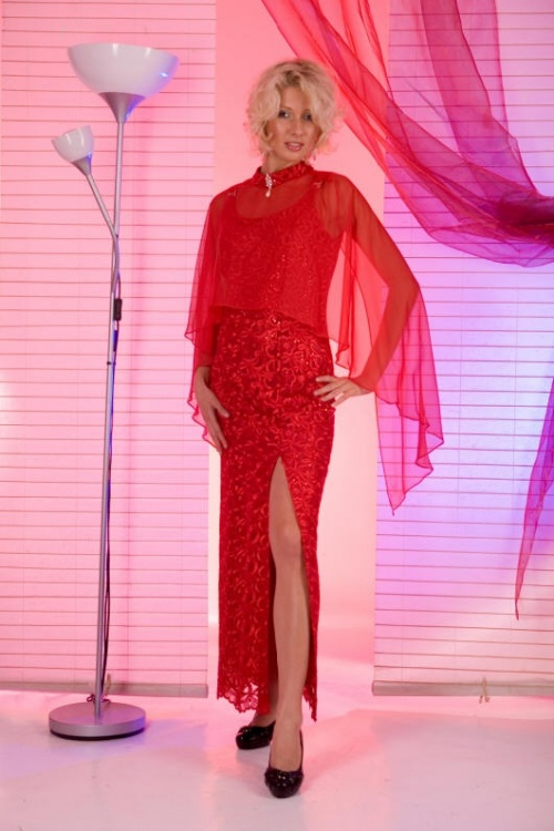 Платья Модель D 9103