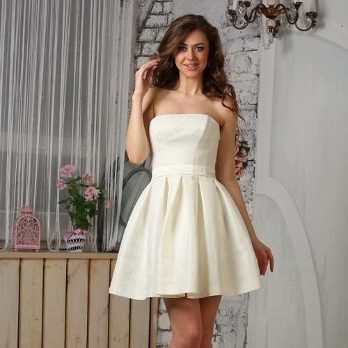Свадебное короткое платье купить челябинск