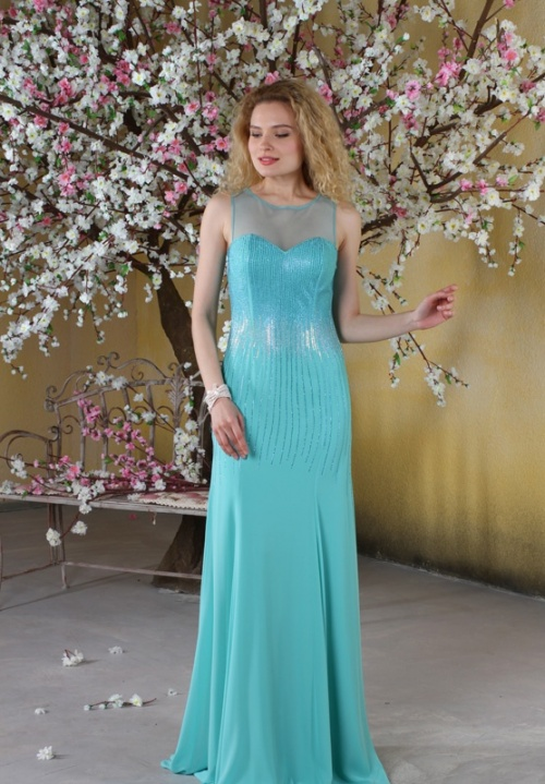 Женские платья Платье  Модель U 375