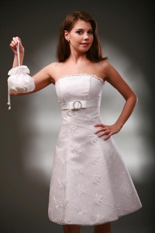 Платья Модель Настенька - белое