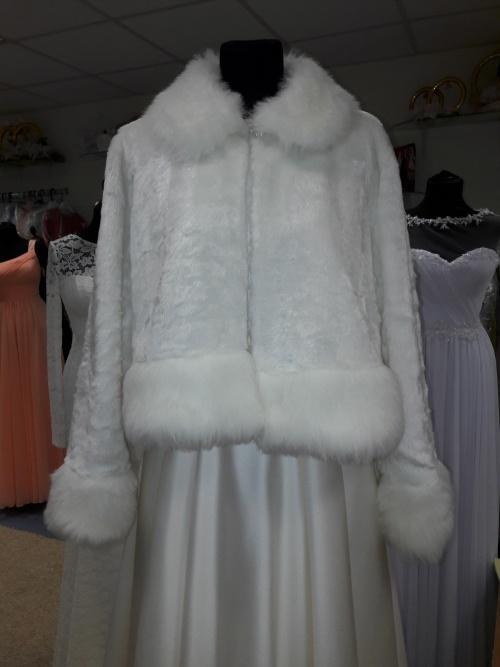 Свадебные платья Шубка из искусственного меха