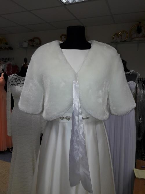 Свадебные платья Накидка на свадебное платье