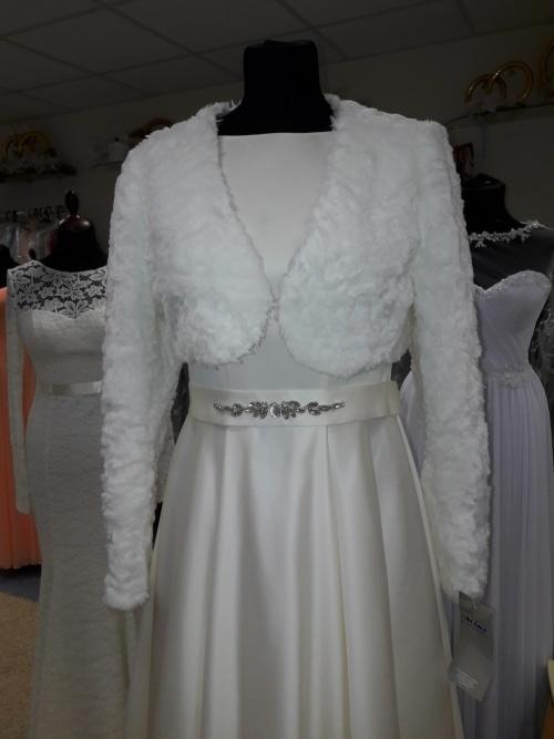 Свадебные платья Укороченная шубка  для платья