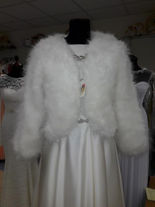Свадебные платья Накидка из искусственного меха