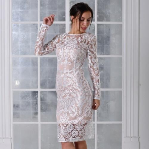 7e0407dffca Каталог коротких свадебных платьев