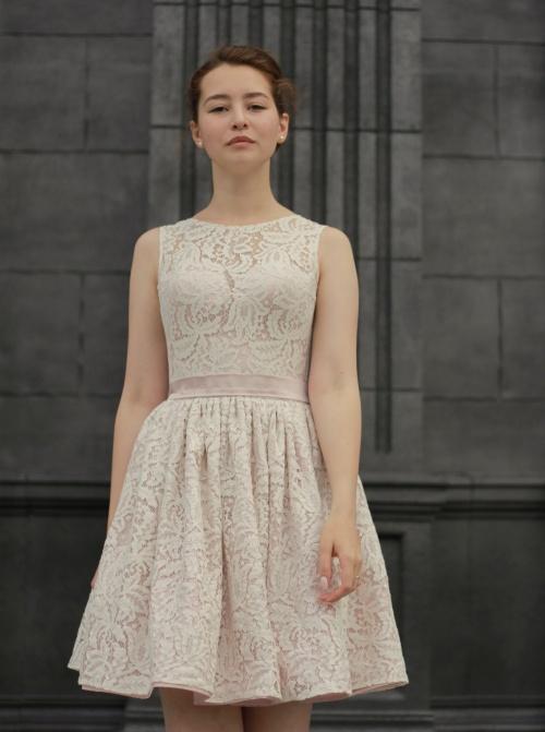 Свадебные платья Джейн пудра