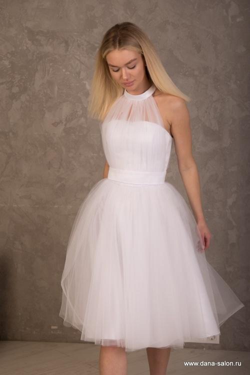 Свадебные платья Диодора white