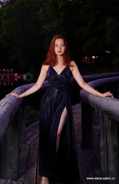 Женские платья Дамиана blue