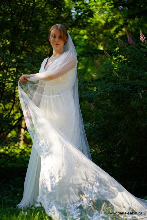 Свадебные платья Керстин фата
